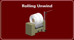 elastic rolling unwind equipment
